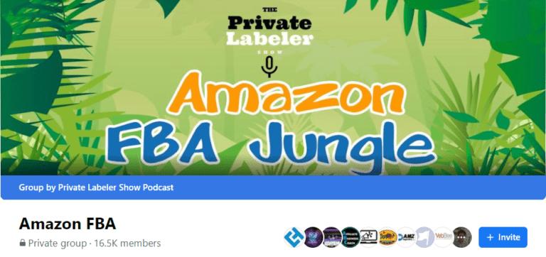 Amazon FBA Jungle FB group
