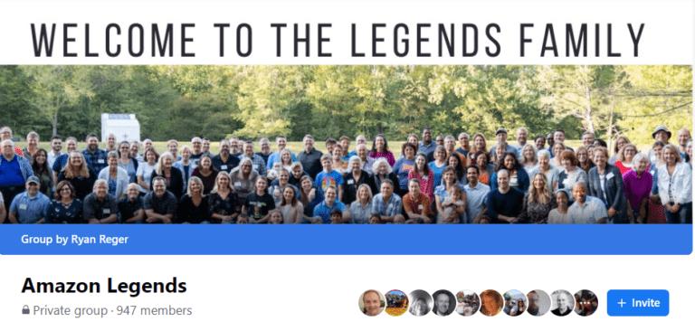 Amazon Legends Facebook group