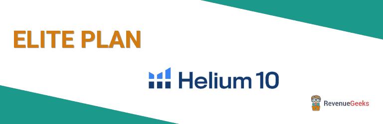 Helium 10 Elite Plan