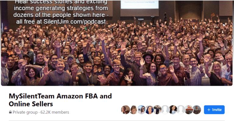 MySilenTeam Amazon FBA Facebook group