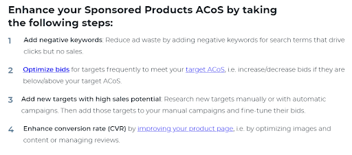 Improve Sponsored Products ACoS