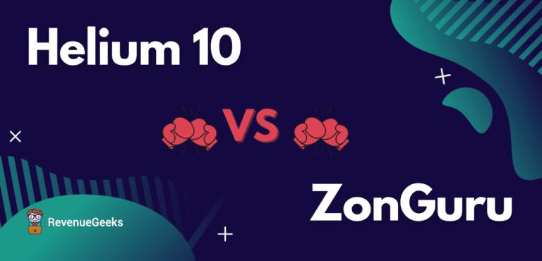 ZonGuru Compared to Helium 10